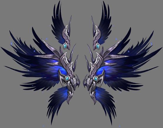 魔法师,剑士三大职业,除了各个角色特性,外貌不同之外,每个角色的翅膀